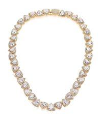 Adriana Orsini | Metallic Athena Trillion Necklace/goldtone | Lyst