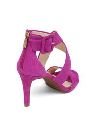 Jessica Simpson | Pink Liddy Suede Heels | Lyst