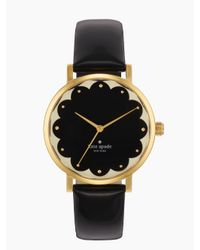 kate spade new york | Black Scalloped Metro | Lyst