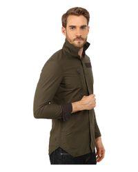G-Star RAW | Green Powell 3d Long Sleeve Shirt for Men | Lyst
