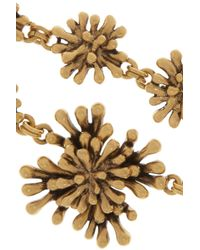 Oscar de la Renta - Metallic Goldplated Seaweed Necklace - Lyst