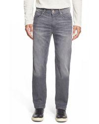 Joe's Jeans - Gray 'brixton' Slim Fit Jeans for Men - Lyst