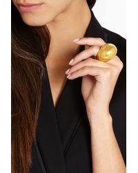 Finds - Metallic + Catherine Prevost 18-Karat Gold Nugget Ring - Lyst