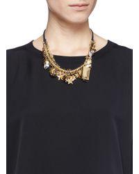 Venessa Arizaga | Blue 'stargazer' Necklace | Lyst