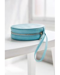 Urban Outfitters - Blue Round Wristlet Wallet - Lyst