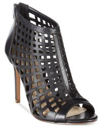 Charles by Charles David - Black Infusion Perforated Booties - Lyst