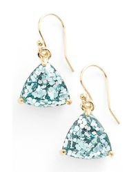 kate spade new york | Blue 'twinkle Lights' Drop Earrings - Turquoise Multi Glitter | Lyst