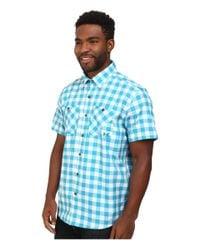 Under Armour - Blue Ua Chesapeake S/s Plaid Shirt for Men - Lyst