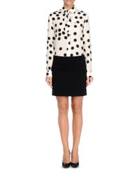 Boutique Moschino - Black Long Sleeve Shirt - Lyst