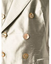 Jean Paul Gaultier - Gray Sleeveless Suit - Lyst