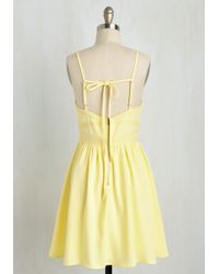 Marine Blu - Yellow More Than Sweets The Eye Dress - Lyst