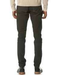 Rag & Bone - Green Standard Issue Fit 2 Canvas Jeans for Men - Lyst