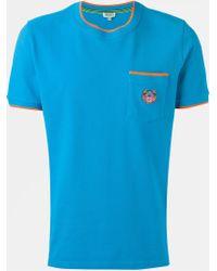 KENZO - Blue 'tiger' T-shirt for Men - Lyst