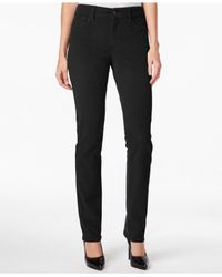 NYDJ | Black Colored Wash Jeans | Lyst