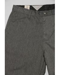Volcom | Gray Frickin Chino Short for Men | Lyst