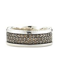David Yurman | Multicolor Pre-Owned: Streamline Three Row Pave Band (Mens) for Men | Lyst