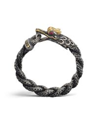 John Hardy | Metallic Legends Naga Dragon Head Bracelet for Men | Lyst
