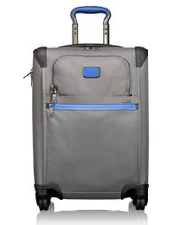 Tumi | Gray 'alpha 2' Continental Rolling Four Wheel Carry-on for Men | Lyst