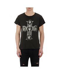 Lyst Madeworn Guns N 39 Roses T Shirt In Black For Men