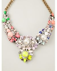 Shourouk | Multicolor 'apolonia' Necklace | Lyst