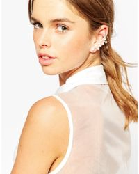 ASOS | Metallic Interstellar Ear Cuff | Lyst