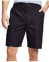Geoffrey Beene | Blue Big & Tall Ripstop Shorts for Men | Lyst