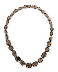 Alexis Bittar Fine - Gray Smoky Quartz  Diamond Necklace - Lyst