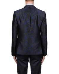 Class Roberto Cavalli | Blue Blazer for Men | Lyst