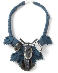 EK Thongprasert | Blue Skyros Marble Necklace | Lyst