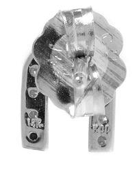 KC Designs - Metallic White Gold Diamond N Single Stud Earring - Lyst