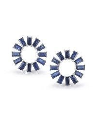 Dana Rebecca | Blue Anna Beth Sapphire Starburst Earrings | Lyst