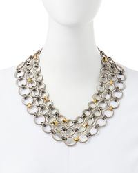 Gurhan | Multicolor Hoopla Multistrand Necklace | Lyst