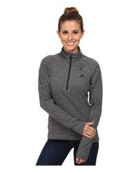 Adidas | Gray Reachout 1/2 Zip Top | Lyst