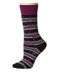 Icebreaker | Purple Lifestyle Medium Crew Blossom 1-pair Pack | Lyst