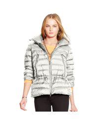 Polo Ralph Lauren - Natural Mockneck Down Jacket - Lyst