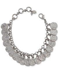 Lucky Brand - Metallic Shaky Coin Bracelet - Lyst