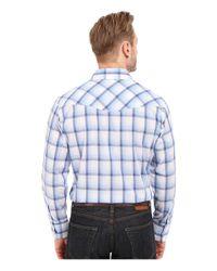 Roper - 0296 Blue & White Plaid for Men - Lyst