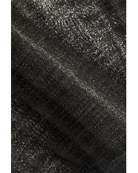 Proenza Schouler - Black Metallic Wool-blend Tank - Lyst