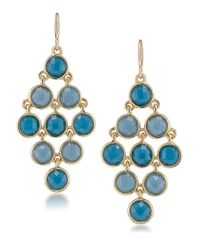 Carolee | Bayou Blues Chandelier Earrings | Lyst