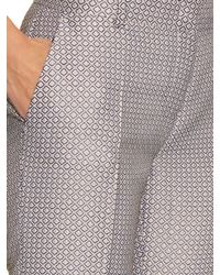 Max Mara Studio | Gray Madia Trousers | Lyst