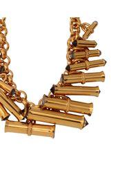 Scott Wilson | Metallic Swarovski Barrel Necklace | Lyst