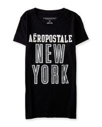 Aéropostale | Black Aéropostale New York Graphic T | Lyst