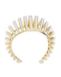 Noir Jewelry | Metallic Gasparee Cuff | Lyst