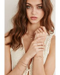 Forever 21 - Metallic Shashi Tracy East West Ring - Lyst