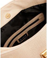 Dune - Natural Draylin Shoulder Bag with Tassle Detail - Lyst