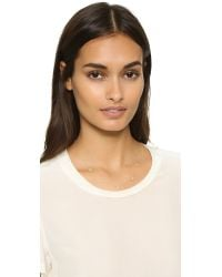 Adina Reyter - Metallic Super Tiny Solid Triangle Chain Necklace - Lyst