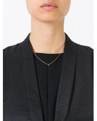 Selin Kent | Metallic 'sophia' Diamond Necklace | Lyst