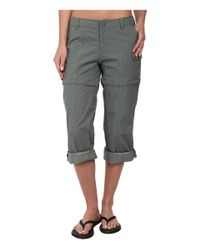 The North Face - Green Paramount Ii Convertible Pant - Lyst