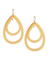 Stephanie Kantis - Metallic Paris Double-drop Medium Earrings - Lyst