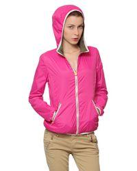 Colmar | Pink Lightweight Reversible Nylon Jacket | Lyst